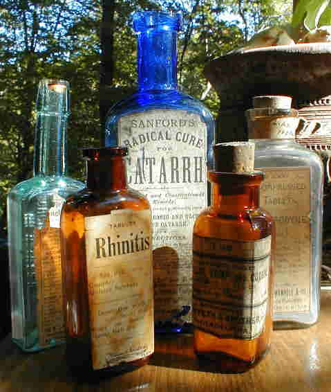 Pharmacy Bottles